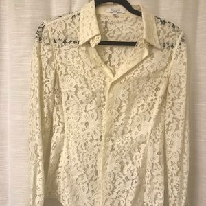 Equipment Lace Blouse